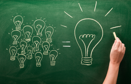 The-big-new-idea-lightbulb-on-greenboard