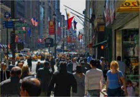 Crowded-city