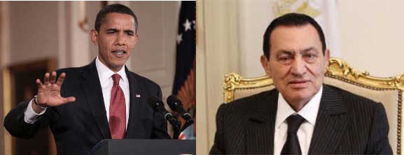 Obama-and-mubarak